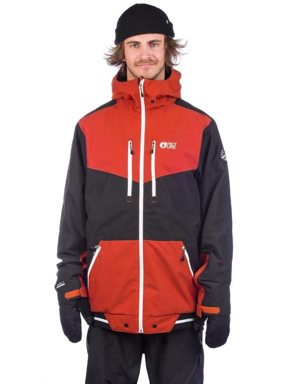 Picture Panel Ski jas rood