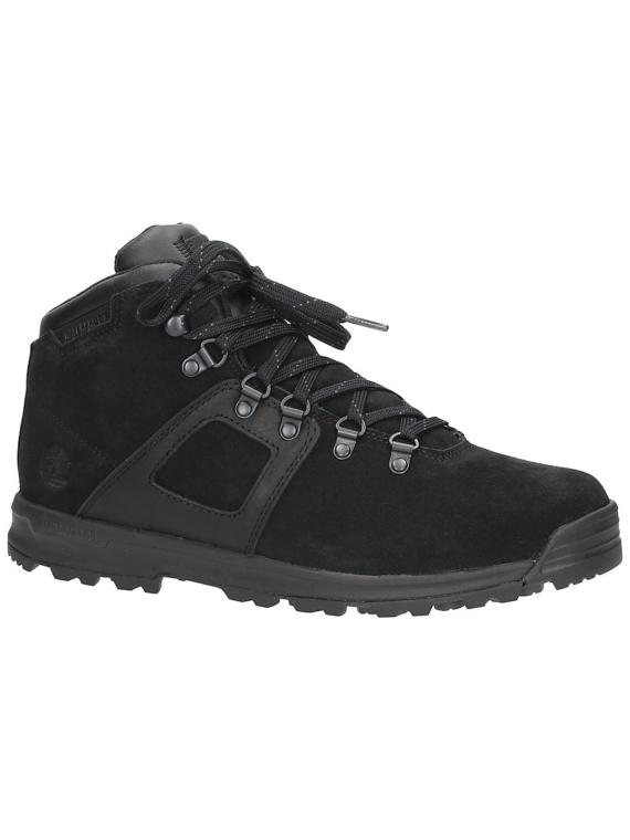 Timberland GT Scramble Mid lederen WP schoenen zwart