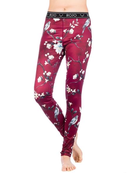 Rojo Full Length Tech broek rood