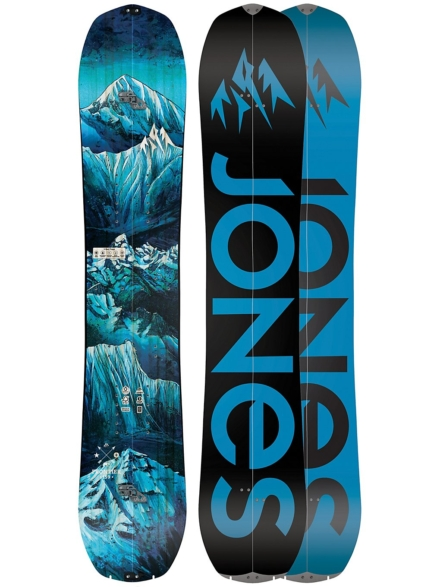 Jones Snowboards Frontier 159 Splitboard 2020 patroon