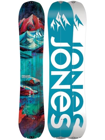 Jones Snowboards Dream Catcher 151 Splitboard 2020 patroon