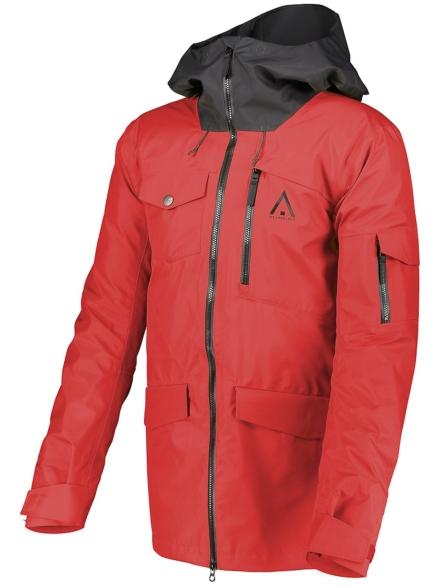 WearColour Hawk Ski jas rood