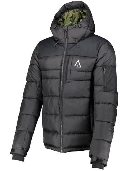 WearColour Zeal Ski jas zwart