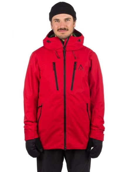 WearColour Grid Ski jas rood