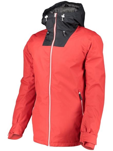 WearColour Block Ski jas rood