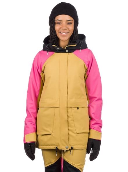 WearColour Blaze Ski jas bruin