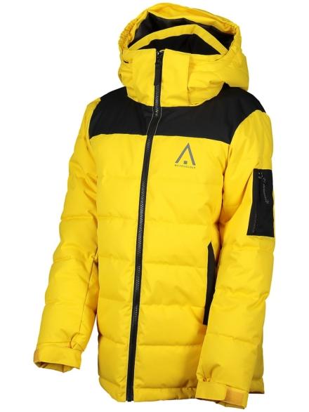 WearColour Polar Ski jas geel