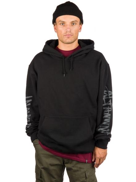 Altamont On Liner Hoodie zwart