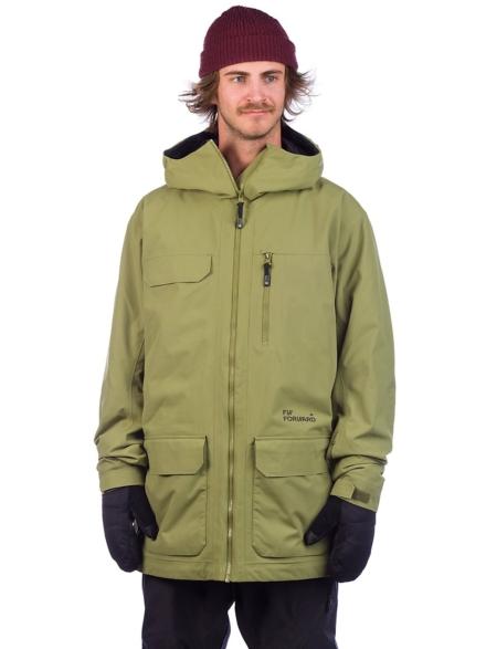 FW Catalyst 2L Wps Ski jas groen