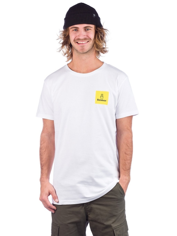 Bataleon Logo Box T-Shirt wit