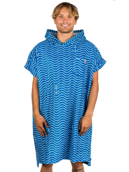 After Waves Surf Poncho blauw