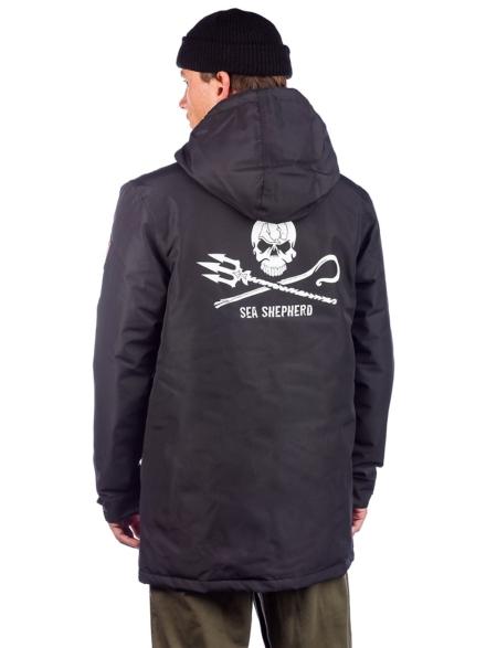 Derbe JF_Streber Ski jas zwart