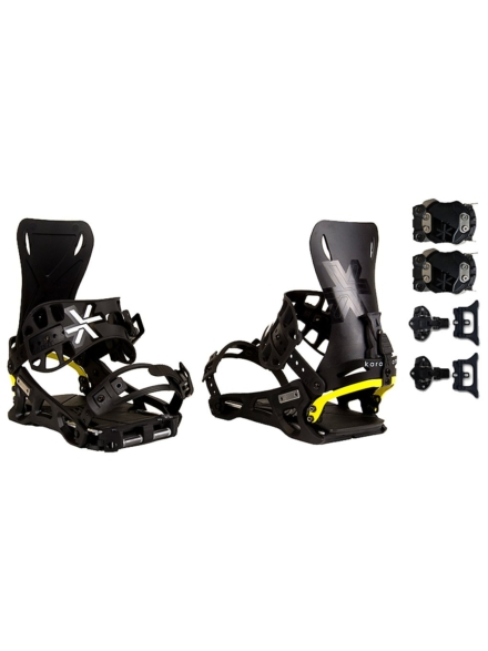 Karakoram Prime Connect R + Splitboard Interface Splitboard Bindings 2020 patroon