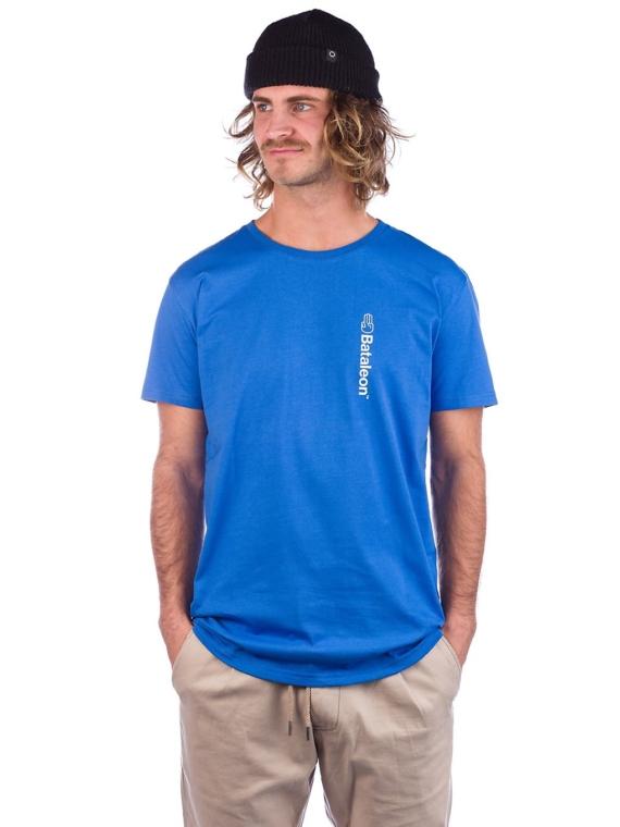 Bataleon Logo Vert T-Shirt blauw