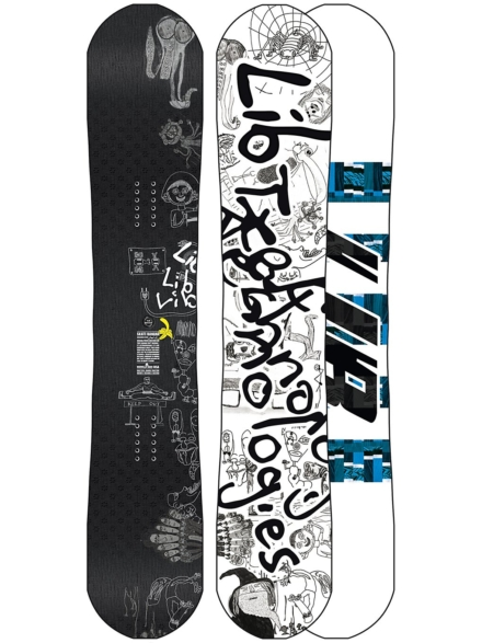 Lib Tech Skate Banana BTX 162W 2020 patroon