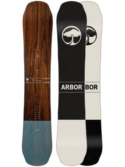 Arbor Coda Camber 159 2020 patroon