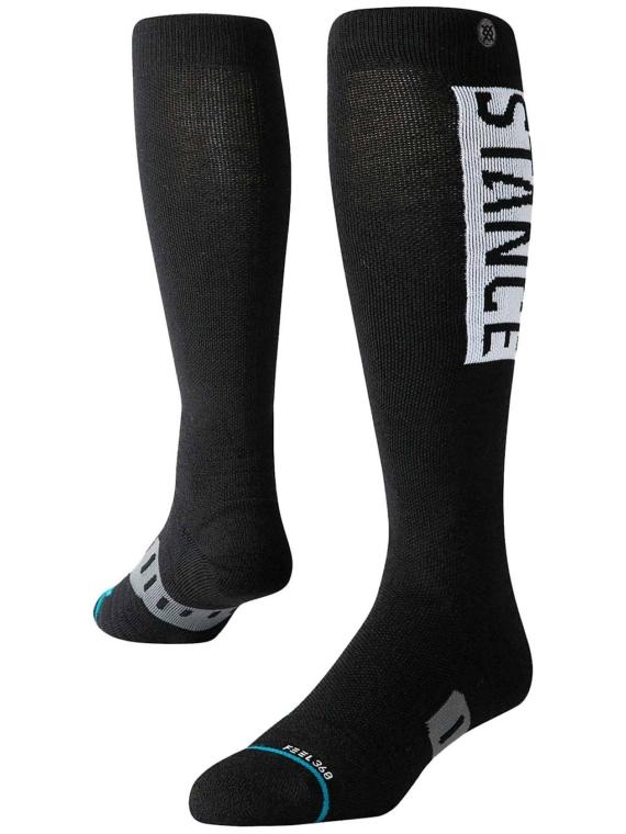 Stance Og Wool Tech skisokken zwart