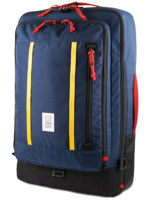 TOPO Designs Travel 40L rugtas blauw
