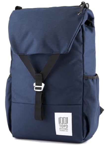 TOPO Designs Y rugtas blauw