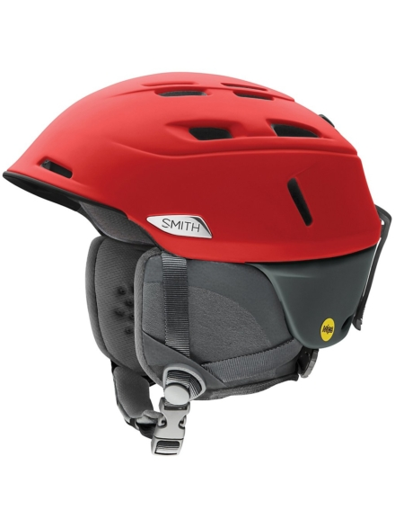Smith Camber MIPS Skihelm rood