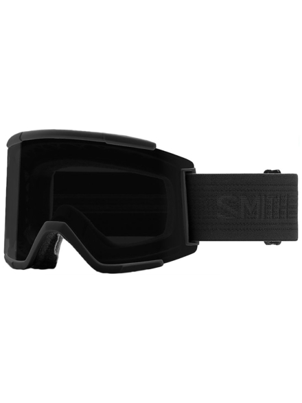 Smith Squad XL zwartout (+ Bonuslens) zwart