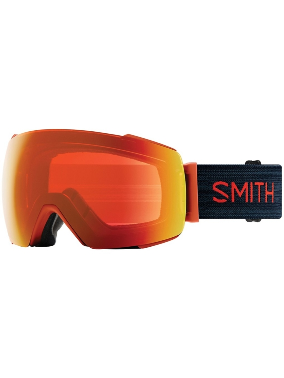 Smith IO Mag Red Rock (+ Bonuslens) rood