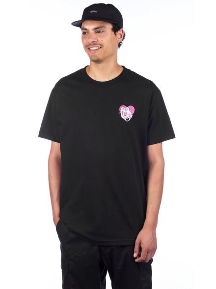 Danson Otter Love T-Shirt zwart