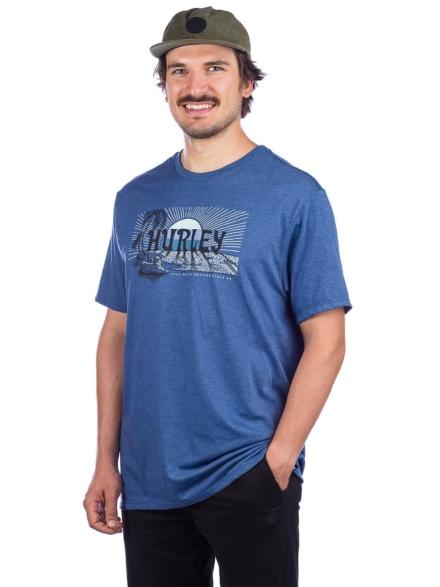 Hurley Horizon T-Shirt blauw