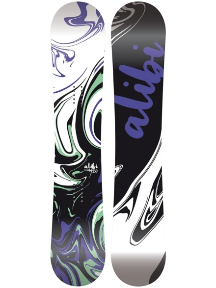 Alibi Snowboards Muse 154 2020 patroon