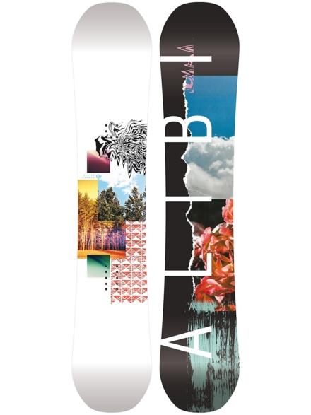 Alibi Snowboards Sicter 150 2020 patroon