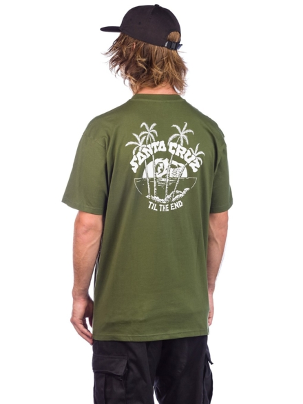 Santa Cruz Horizon T-Shirt groen