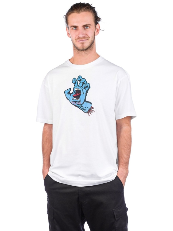 Santa Cruz Screaming Hand T-Shirt wit