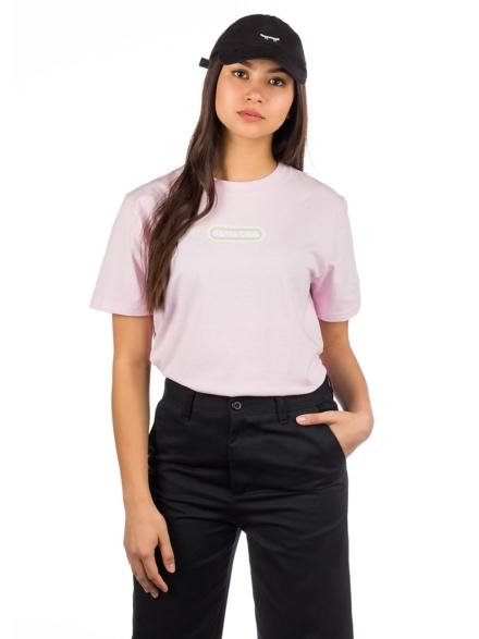 Santa Cruz Woodstock T-Shirt paars