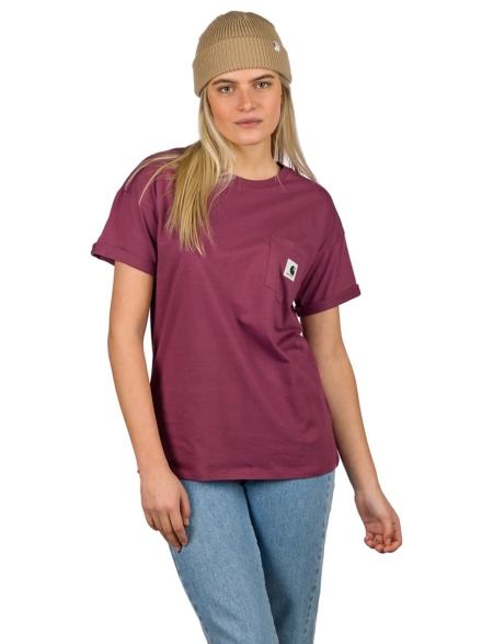 Carhartt WIP Carrie Pocket T-Shirt roze
