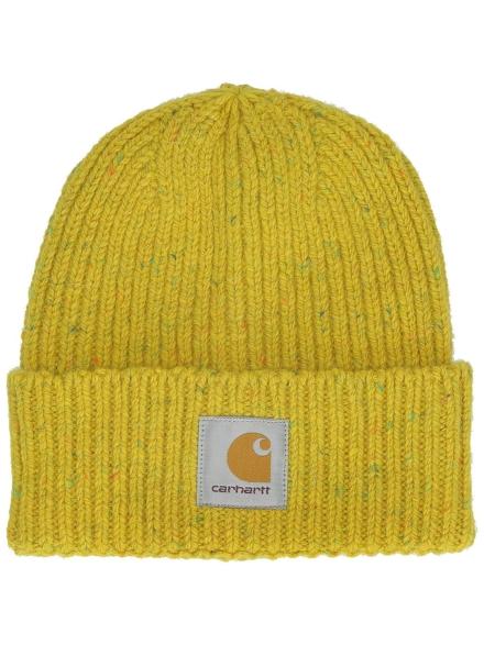 Carhartt WIP Anglistic Beanie geel