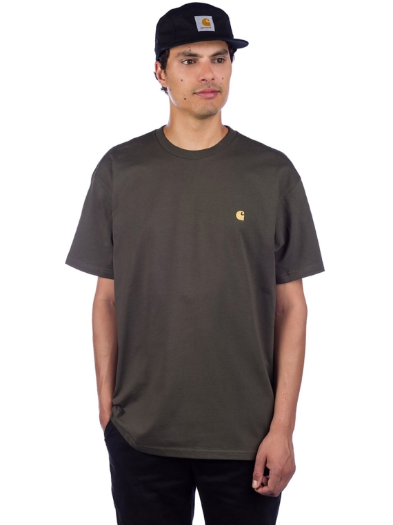 Carhartt WIP Chase T-Shirt bruin