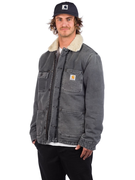 Carhartt WIP Fairmount jas zwart