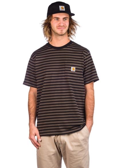 Carhartt WIP Haldon Pocket T-Shirt zwart