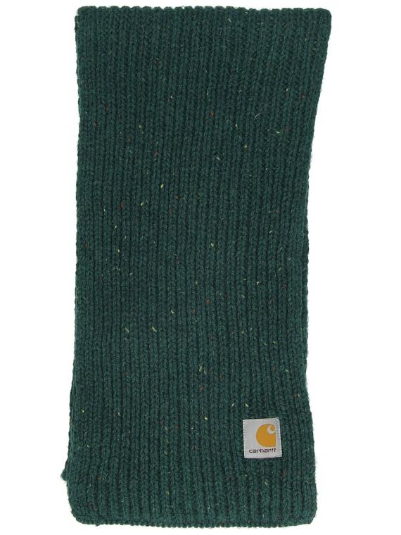 Carhartt WIP Anglistic Plain sjaal groen