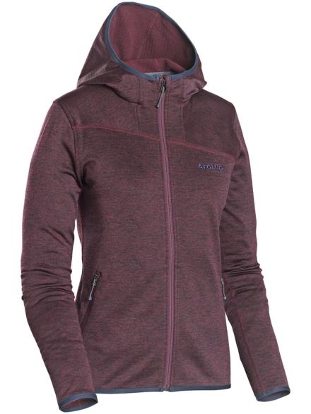 Atomic Hooded Micro Ski jas rood