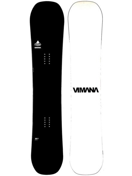Vimana Continental Twin 159W Snowboard 2021 zwart