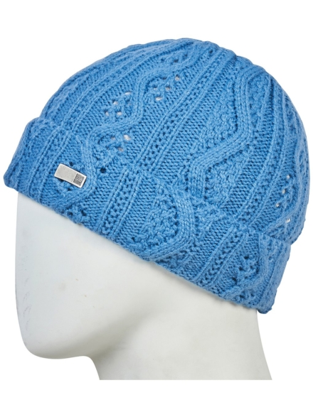 686 Majesty Cable vest Beanie blauw