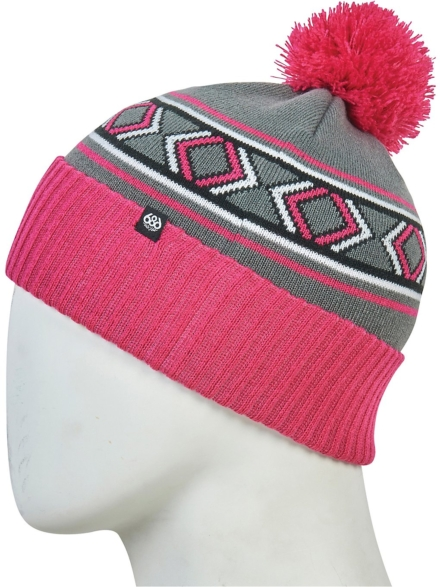686 Chalet Pom Beanie paars