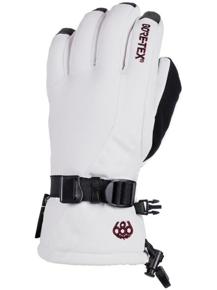 686 Gore-Tex Linear handschoenen wit