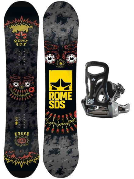 Rome Label 140 + Minishred S 2020 patroon