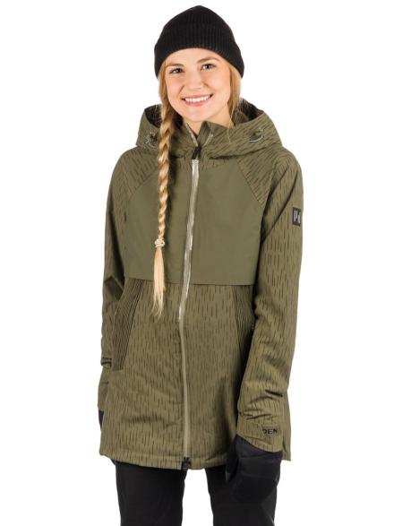 Holden Rowen Fishtail Ski jas groen