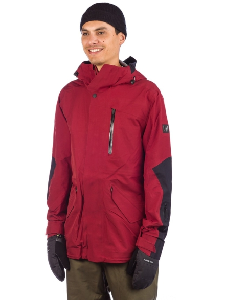 Holden M-51 3-Layer Fishtail Ski jas rood