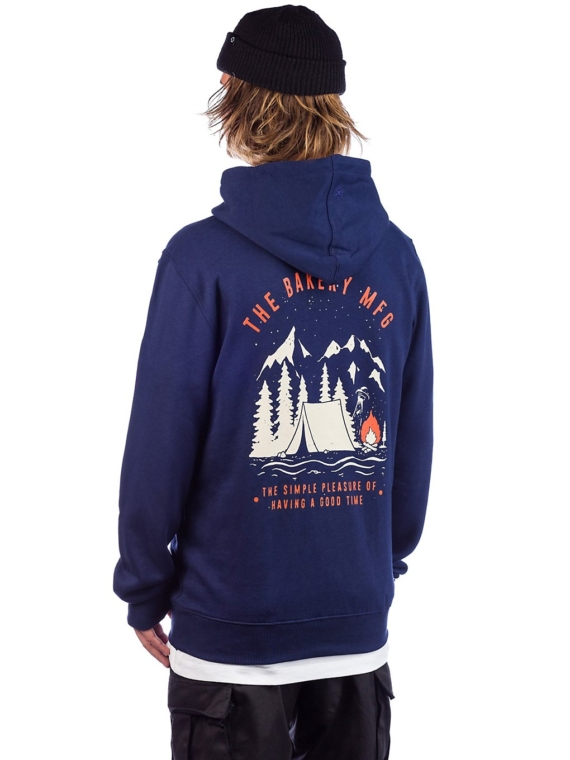 The Bakery Good Times Hoodie blauw