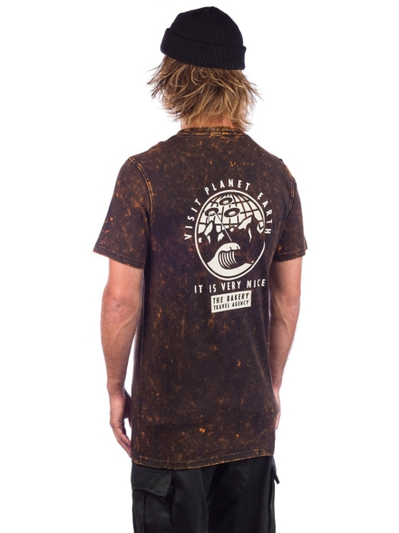 The Bakery Travel Agency T-Shirt zwart