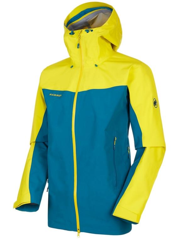 Mammut Crater Hs Hooded Ski jas blauw